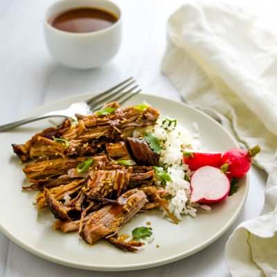 Spicy, Sweet & Savory Asian Pulled Pork