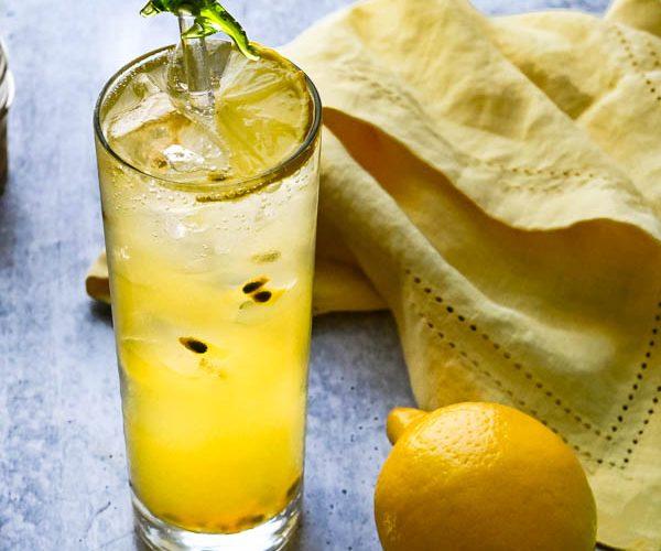 passion fruit vodka soda