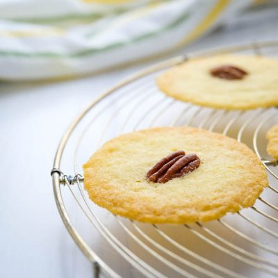 Crispy Small Batch Sugar Cookies