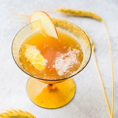 Tongue-Tingling Ginger Cider Bourbon Smash