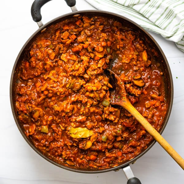 How to make jarred pasta sauce taste homemade.