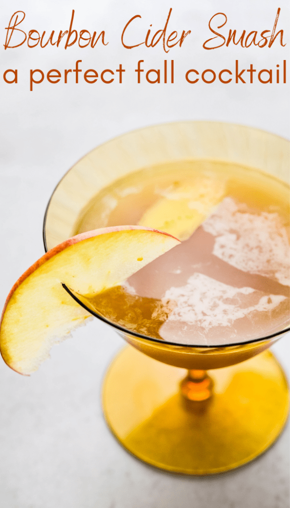 a pin for the ginger bourbon smash.