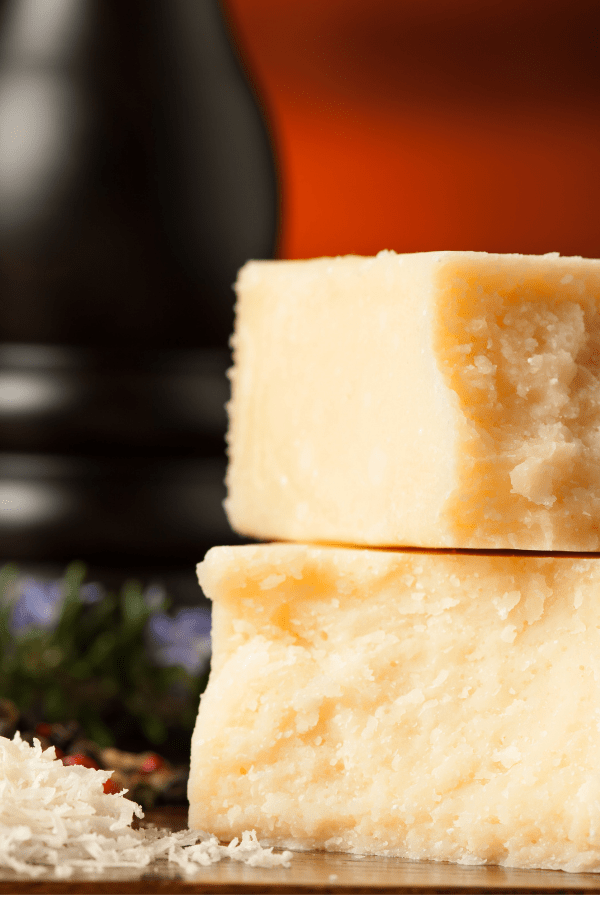 a chunk of parmesan cheese will give your jarred pasta sauce a rich, homemade flavor.