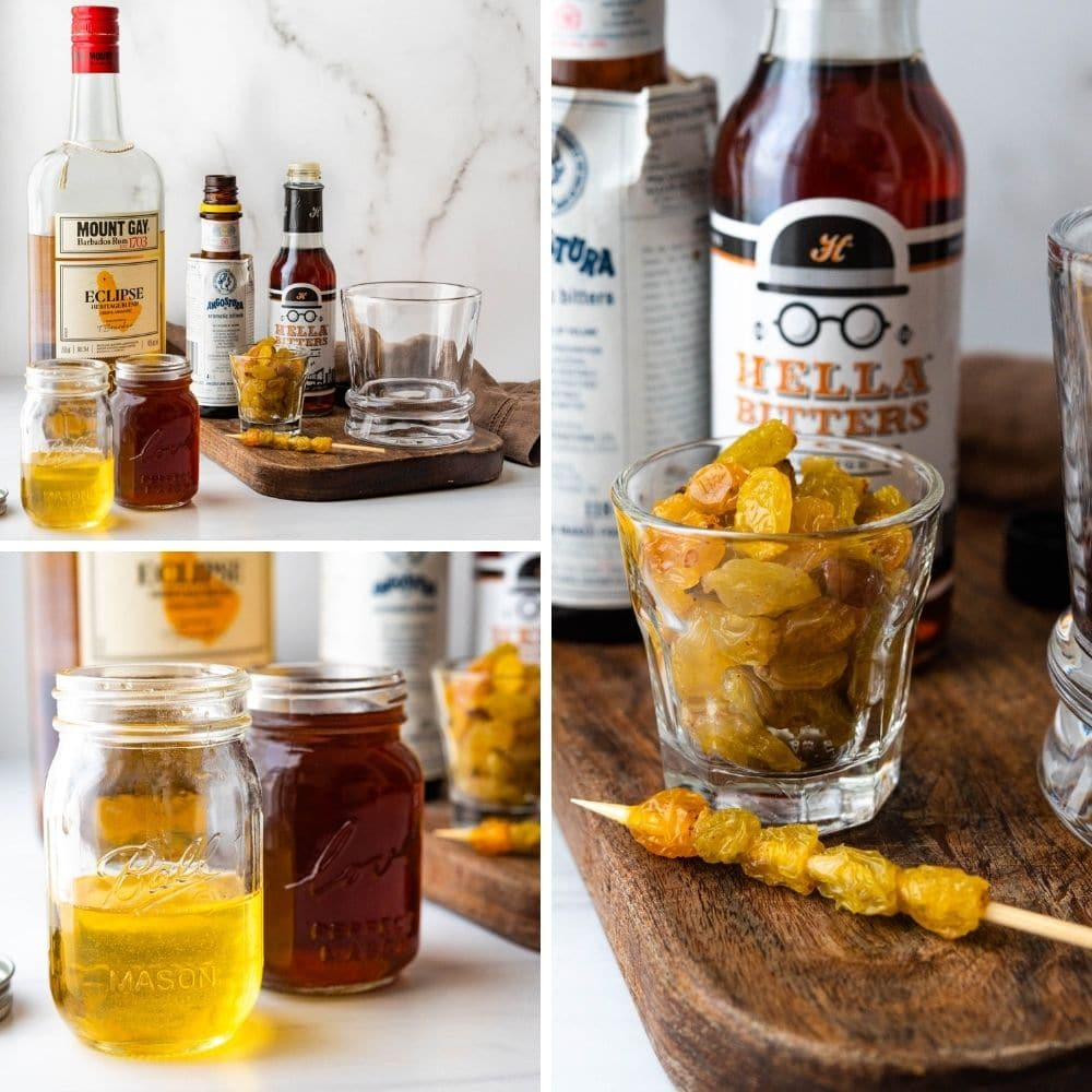 liquors for the old fashioned.