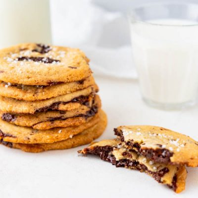 The Salted Tahini Chocolate Chip Cookies You Crave