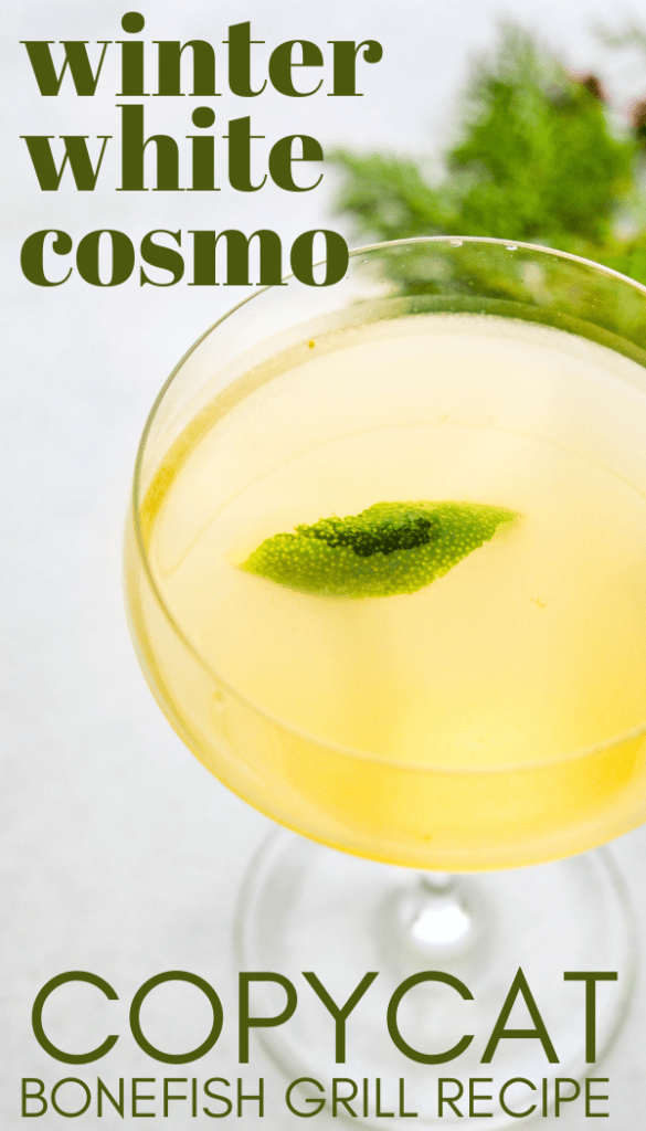 a pin of the winter white cosmo to save for later.