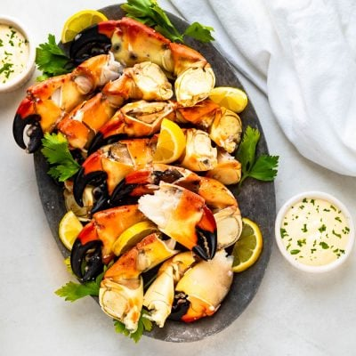 Florida Stone Crab Claws With Mustard Sauce – A Florida Tradition