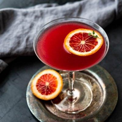 The Original Blood Orange Martini