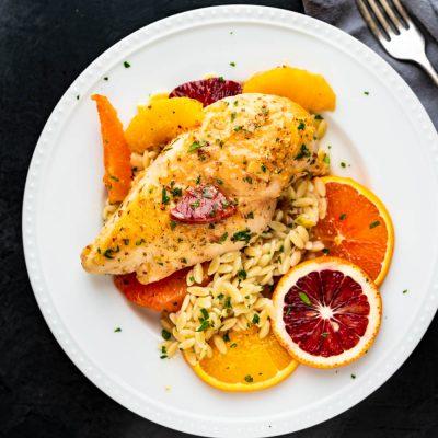 French Orange Dijon Chicken