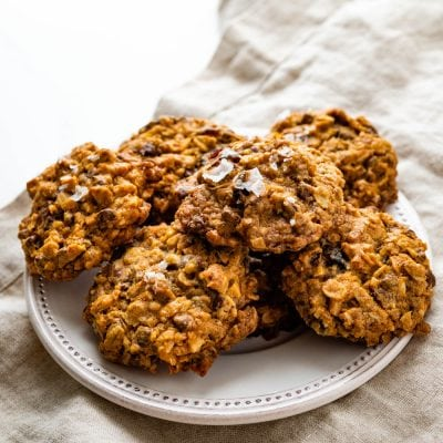 Chunky, Chewy, Salty, Sweet, Everything Oatmeal Cookies