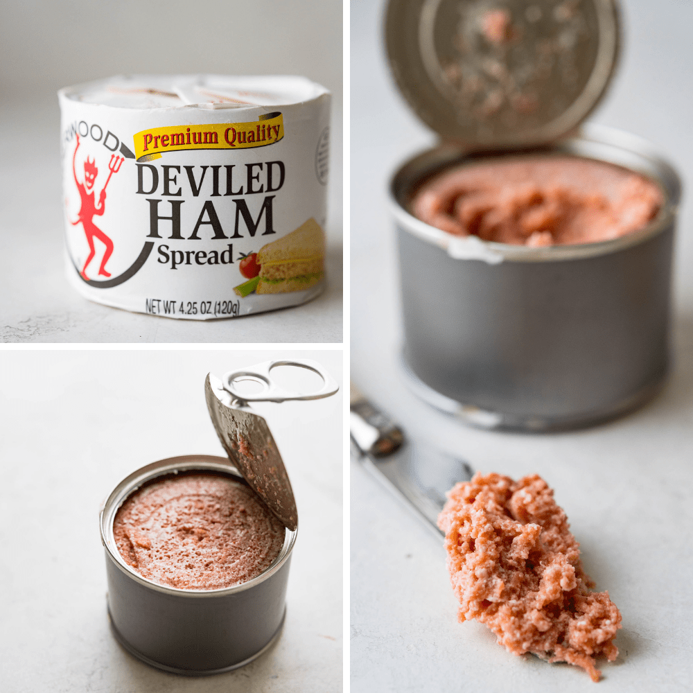 a can of deviled ham spread.