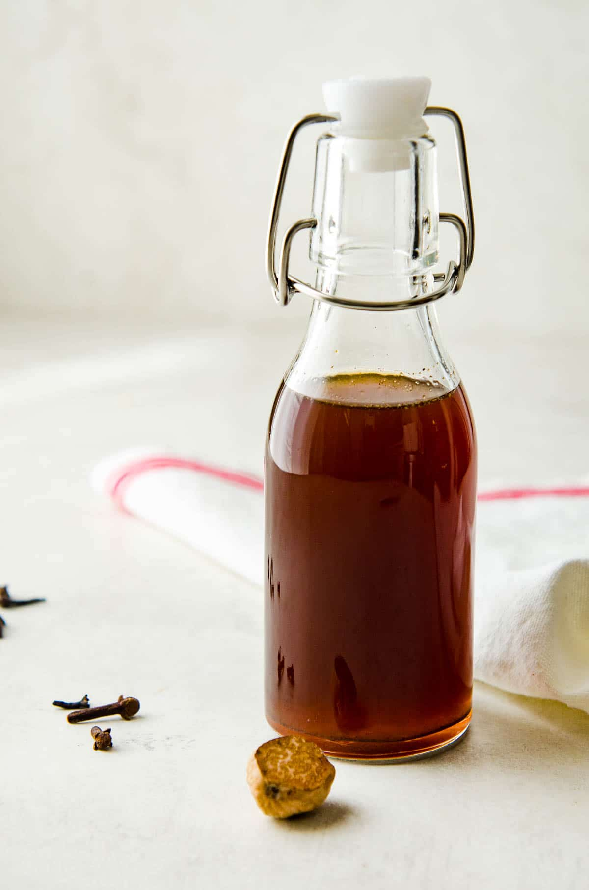 gingerbread simple syrup.